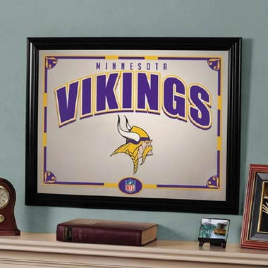 Minnesota Vikings Framed Mirror