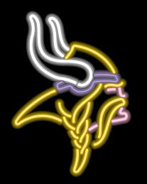 Minnesota Vikings Neon Light