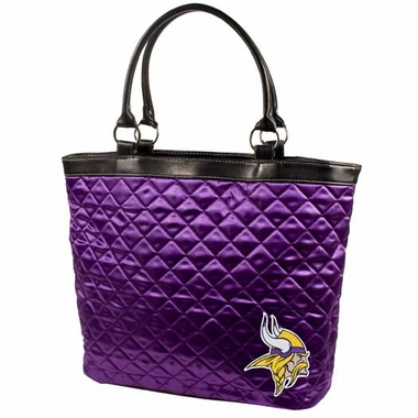 Minnesota Vikings Quilted Tote