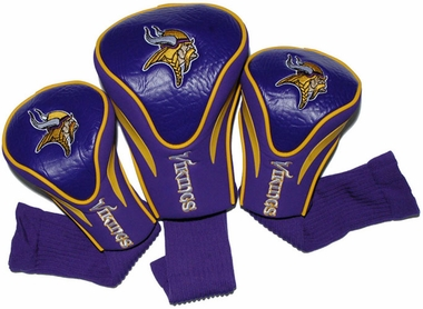 Minnesota Vikings Set of Three Contour Headcovers