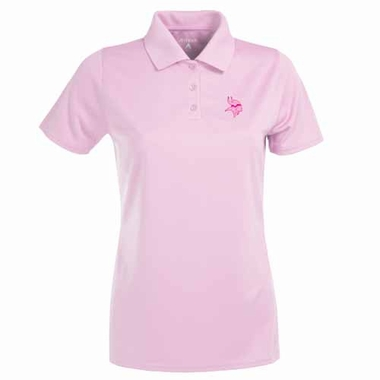 Minnesota Vikings Womens Exceed Polo (Color: Pink)