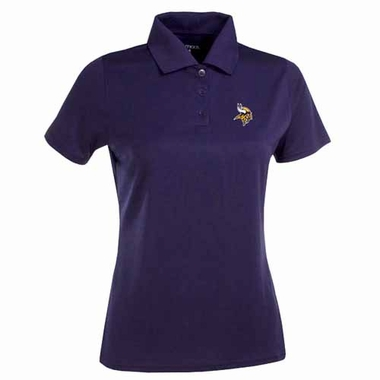 Minnesota Vikings Womens Exceed Polo (Color: Purple)