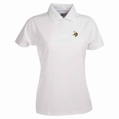 Minnesota Vikings Womens Exceed Polo (Color: White)