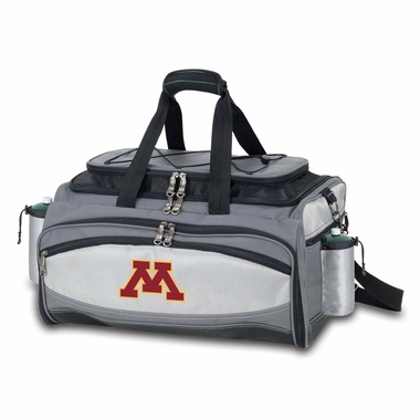 Minnesota Vulcan Embroidered Tailgate Cooler (Black)