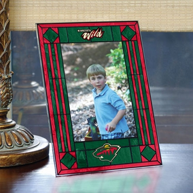 Minnesota Wild Portrait Art Glass Picture Frame