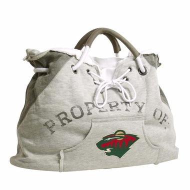 Minnesota Wild Property of Hoody Tote