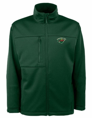 Minnesota Wild Mens Traverse Jacket (Color: Green)