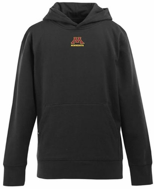 Minnesota YOUTH Boys Signature Hooded Sweatshirt (Color: Black)