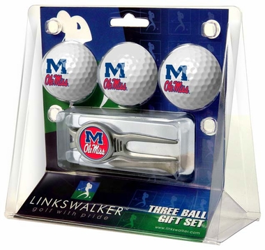 Mississippi 3 Ball Gift Pack With Kool Tool