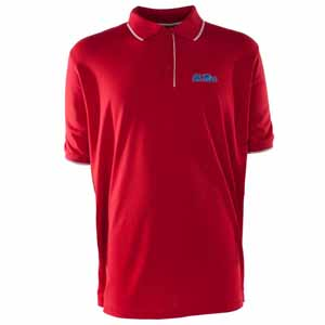 Mississippi Mens Elite Polo Shirt (Color: Red) - Small