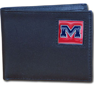 Mississippi Leather Bifold Wallet (F)