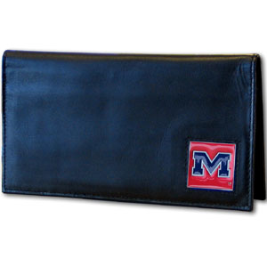Mississippi Leather Checkbook Cover (F)