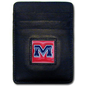 Mississippi Leather Money Clip (F)