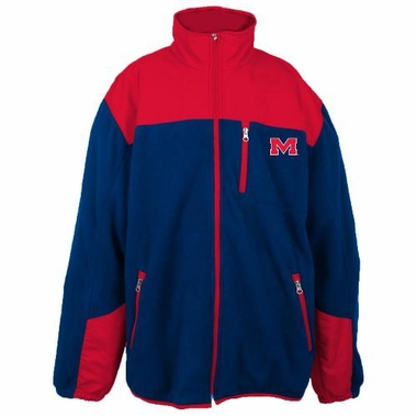 Mississippi Poly Dobby Full Zip Polar Fleece Jacket