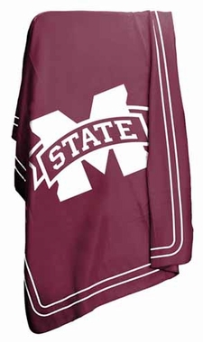 Mississippi State Classic Fleece Throw Blanket