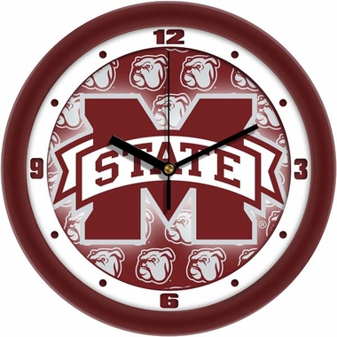 Mississippi State Dimension Wall Clock
