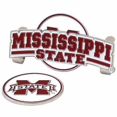 Mississippi State Slider Clip With Ball Marker