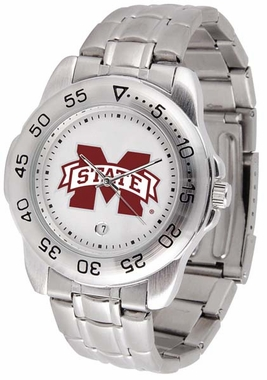 Mississippi State Sport Men's Steel Band Watch