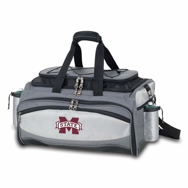 Mississippi State Vulcan Embroidered Tailgate Cooler (Black)