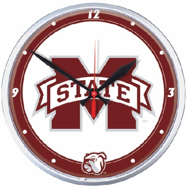 Mississippi State Wall Clock