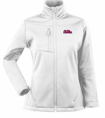 Mississippi Womens Traverse Jacket (Color: White)