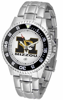 Missouri Competitor Men's Steel Band Watch