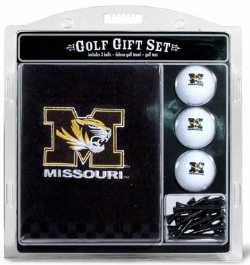 Missouri Embroidered Towel Golf Gift Set