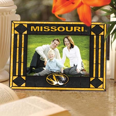 Missouri Landscape Art Glass Picture Frame