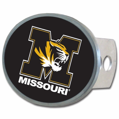 Missouri Oval Metal Hitch Cover
