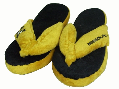 Missouri Plush Thong Slippers