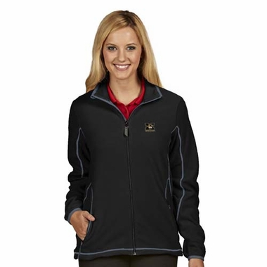 Missouri Womens Ice Polar Fleece Jacket (Color: Black)
