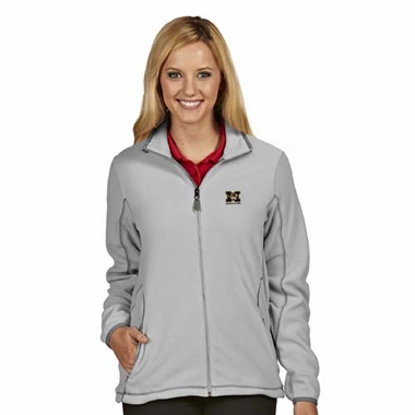 Missouri Womens Ice Polar Fleece Jacket (Color: Gray)
