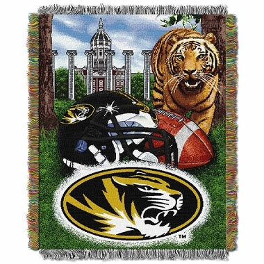 Missouri Woven Tapestry Throw Blanket