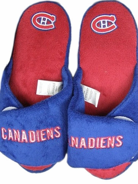 Montreal Canadiens 2011 Open Toe Hard Sole Slippers
