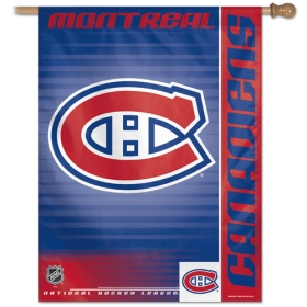 "Montreal Canadiens 27""x37"" Banner"