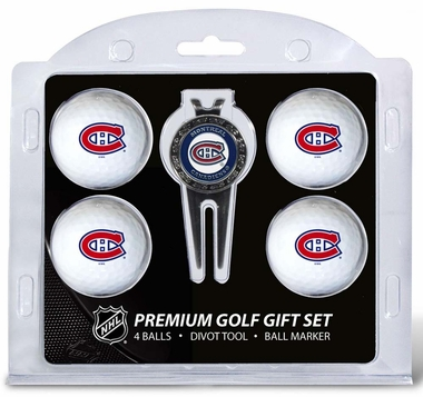 Montreal Canadiens 4 Ball and Divot Tool Set