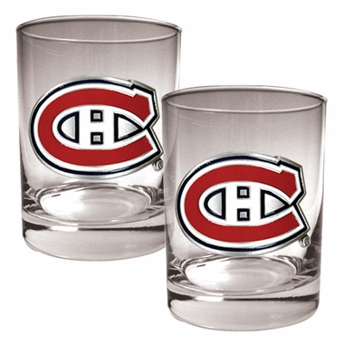 Montreal Canadiens Double Rocks Set