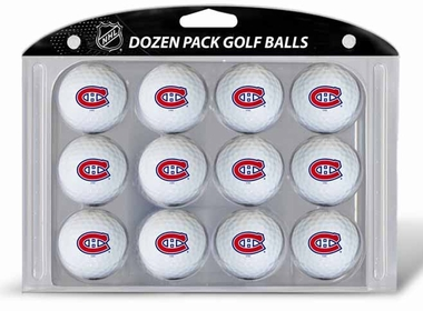 Montreal Canadiens Dozen Golf Balls