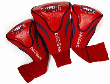 Montreal Canadiens Set of Three Contour Headcovers