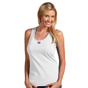 Montreal Canadiens Womens Sport Tank Top (Color: White) - X-Large