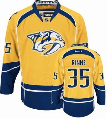 Nashville Predators Pekka Rinne Team Color Premier Jersey