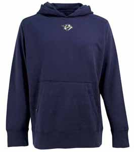 Nashville Predators Mens Signature Hooded Sweatshirt (Color: Navy) - XXX-Large
