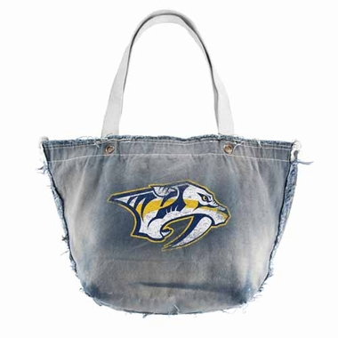 Nashville Predators Vintage Tote (Denim)