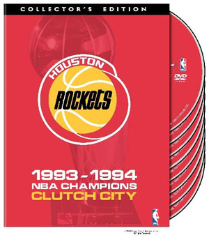 NBA Houston Rockets 1994 Champions: Clutch City DVD