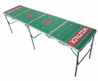NC State 2x8 Tailgate Table