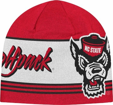 NC State Adidas Originals Knit Skully Hat