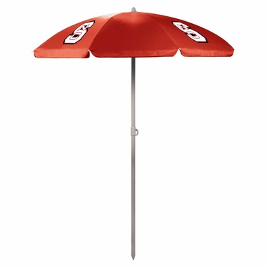 NC State Beach Umbrella (Red)