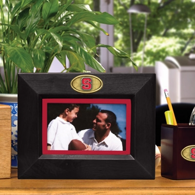 NC State BROWN Landscape Picture Frame