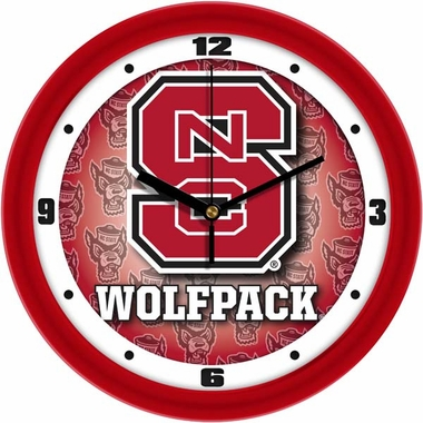 NC State Dimension Wall Clock