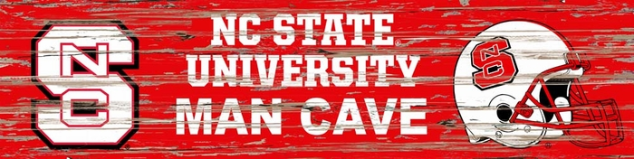 Man Cave Store Nc : Nc state distressed man cave sign small